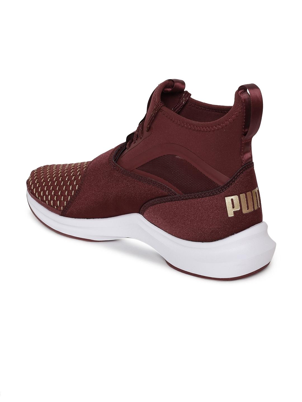7fb6708345d Buy Puma Women Maroon Phenom Varsity Training Shoes - Sports Shoes ...