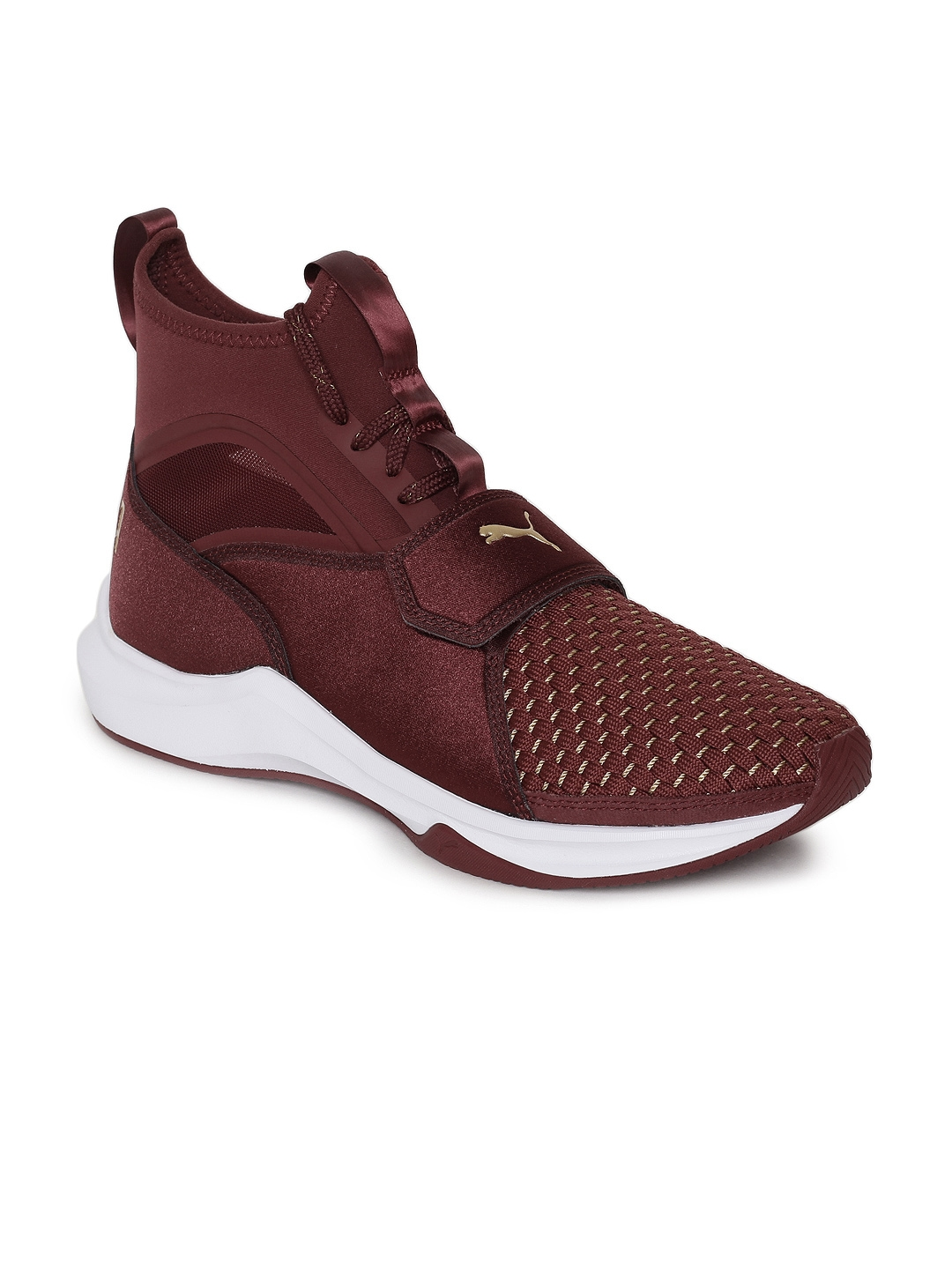 7b21ecf7d7f Buy Puma Women Maroon Phenom Varsity Training Shoes - Sports Shoes ...