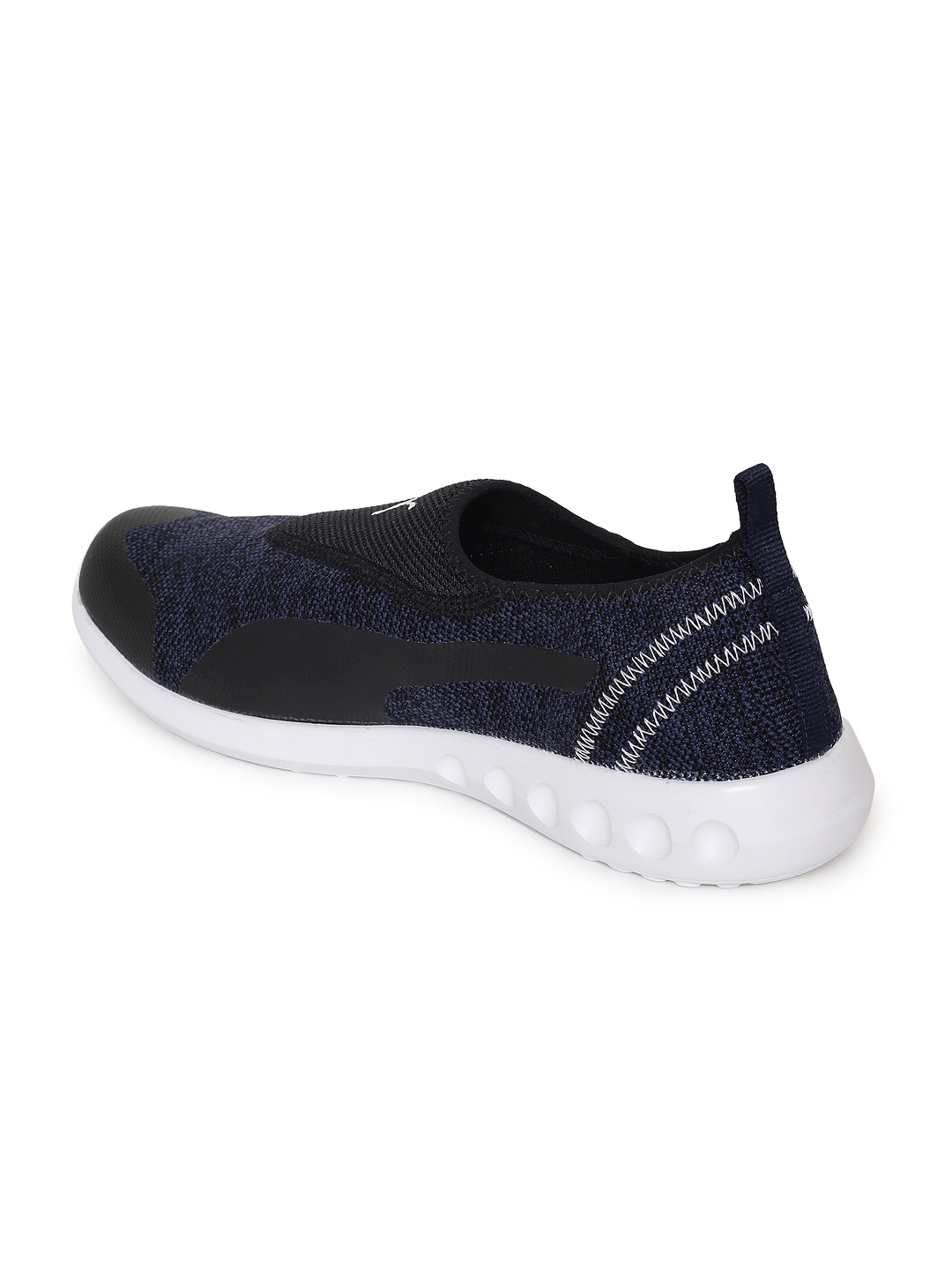 fa441f16d56 Buy Puma Men Navy Blue Solid Concave 2 Slip On IDP Walking Shoes ...