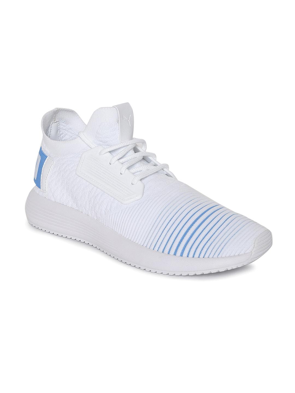 Buy Puma Unisex White   Blue Uprise Color Shift Sneakers - Casual ... 6084e0fd0