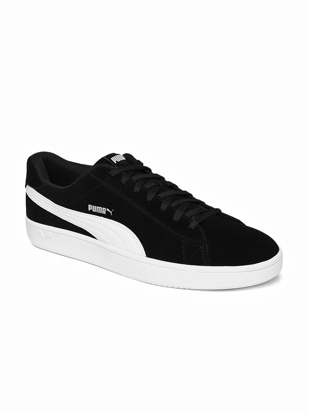 4d000b04f378 Buy Puma Men Black Court Breaker Suede Sneakers - Casual Shoes for ...