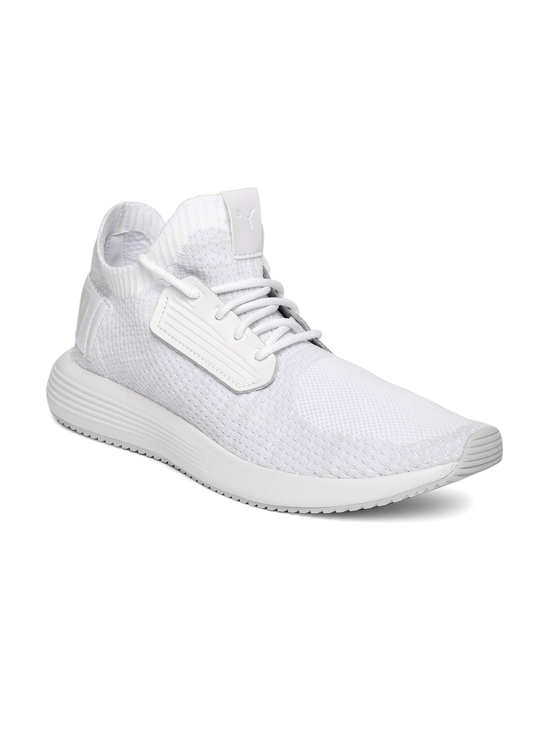 Buy Puma Men White Uprise Knit Sneakers - Casual Shoes for Men ... a4687e09e
