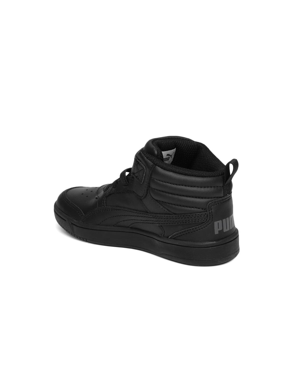 f1751798bb1e Buy Puma Boys Rebound Street V2 L V Pre School Leather Sneakers ...