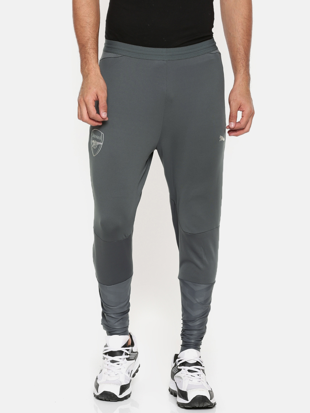 e00bbdf0bcf5 Buy Puma Men Grey Arsenal FC Training PROWITH DRY CELL Track Pants ...