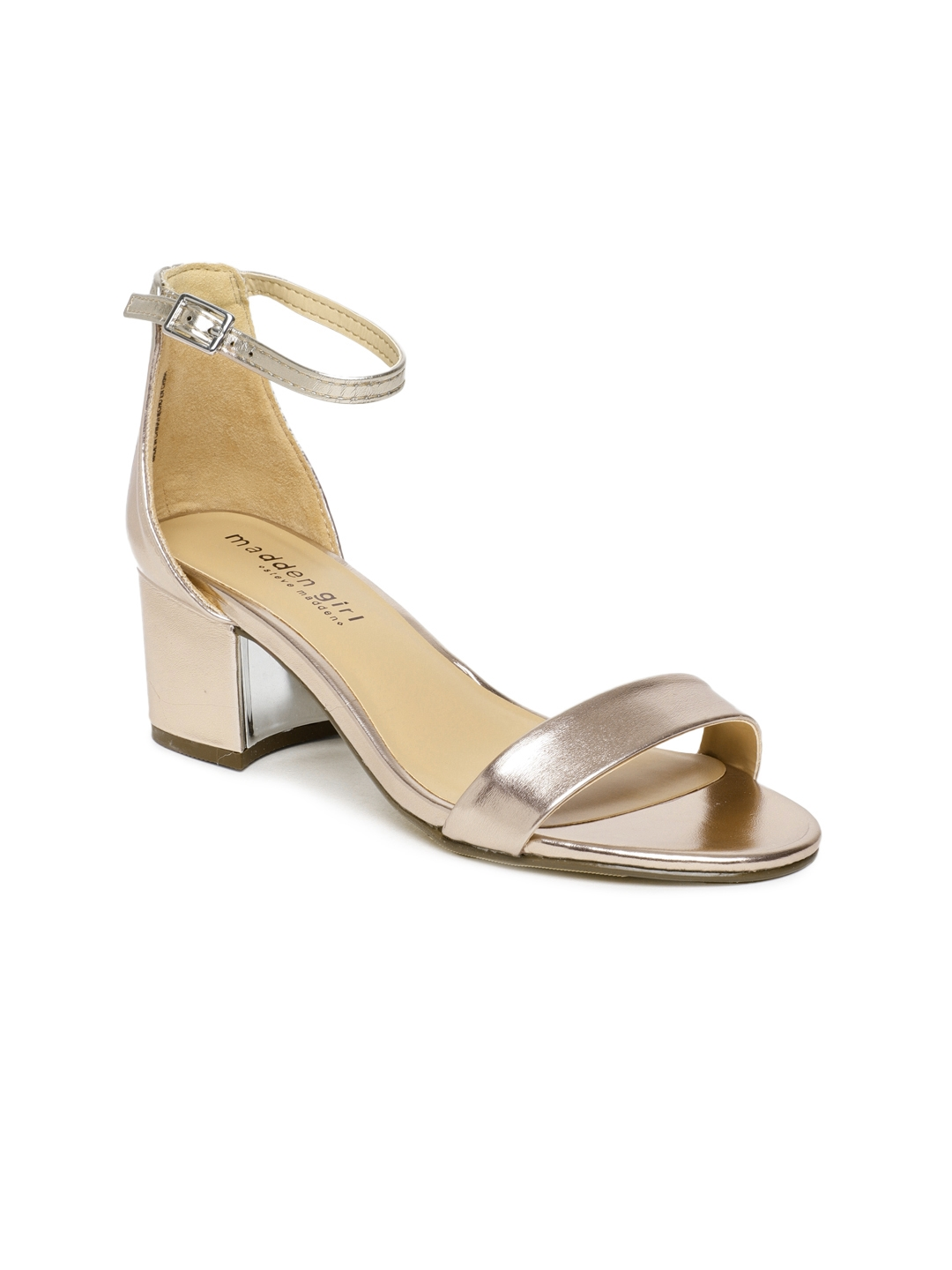 e41c5024705a Buy Steve Madden Women Rose Gold Toned Solid Issy Heels - Heels for ...