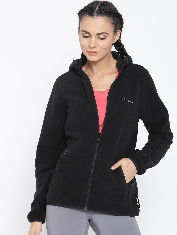 3166572780895 Buy Columbia Black Fuller Ridge Hooded Fleece Outdoor Sporty Jacket ...