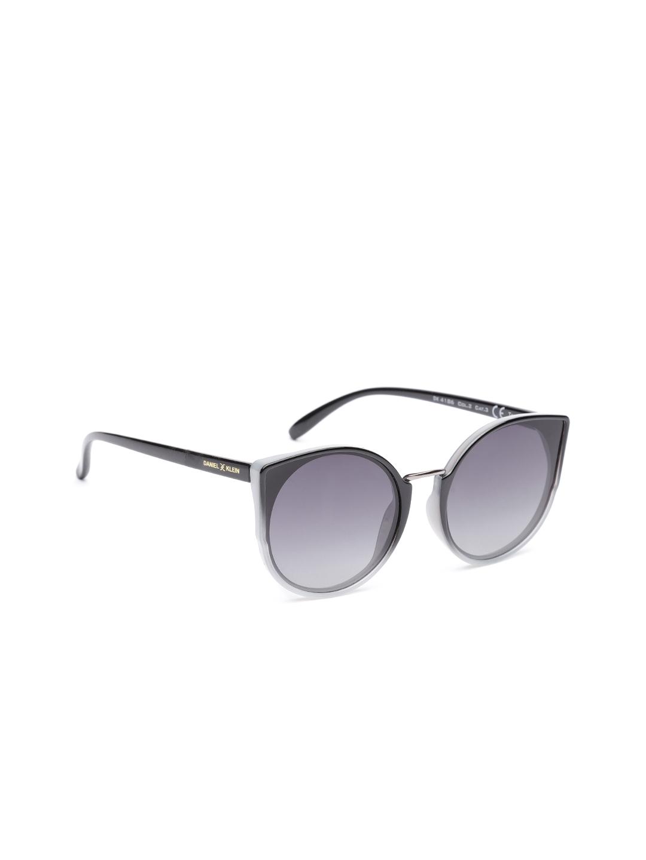 391b243b5a5d Daniel Klein Women Polarised & UV Protected Cateye Sunglasses DK4186-C2