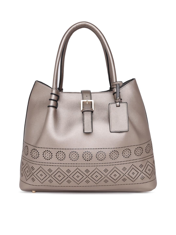 e99b82212f8d Buy Allen Solly Metallic Solid Shoulder Bag - Handbags for Women ...