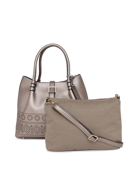 6eda5c07131813 Buy Allen Solly Metallic Solid Shoulder Bag - Handbags for Women 7215503 |  Myntra