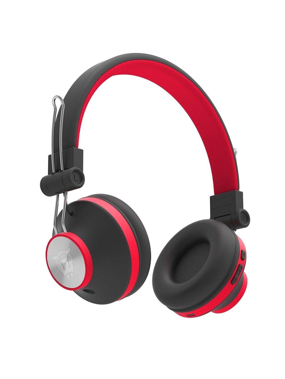 Ant Audio Unisex Red   Black Treble H82 On Ear Bluetooth Headphones Ant Audio Headphones