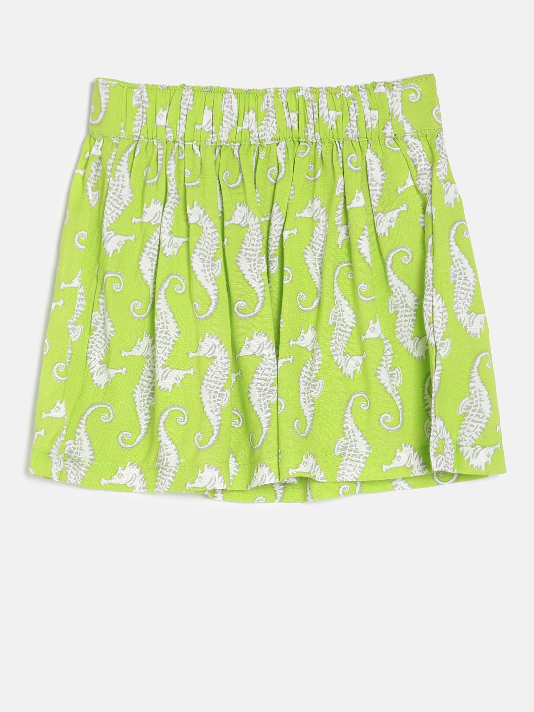 a405f72497 Buy Giny And Jony Girls Green Printed Flared Skirt - Skirts for ...