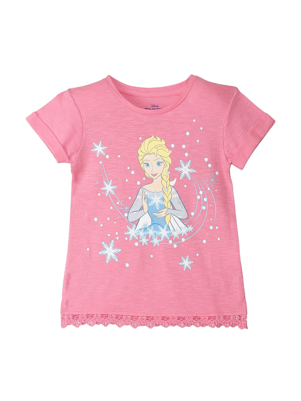 7416aaa42 Buy Kids Ville Girls Pink Printed Barbie T Shirt - Tshirts for Girls ...