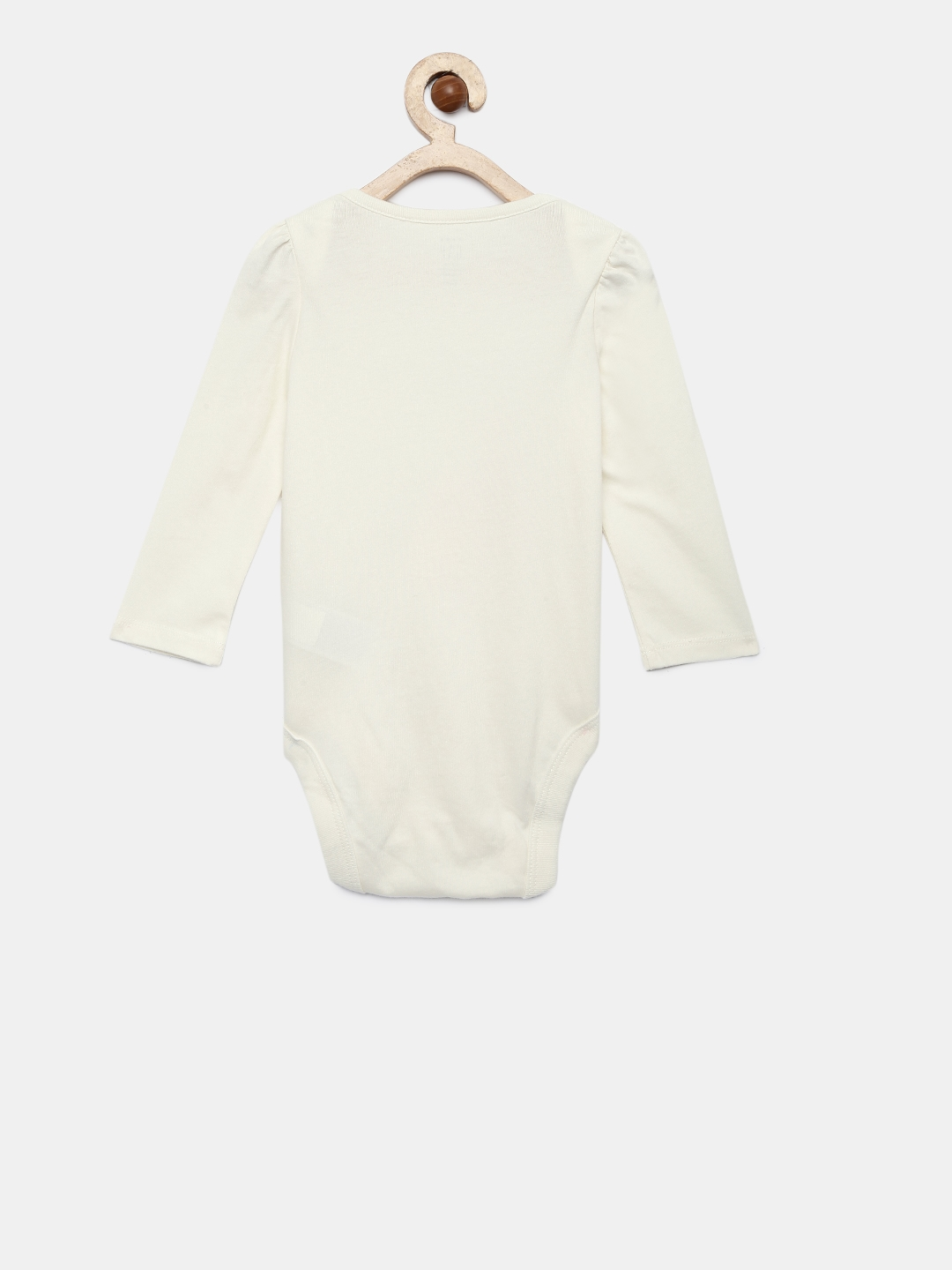 ea3398f01 Buy GAP Girls  White Graphic Long Sleeve Rompers - Rompers for Girls ...