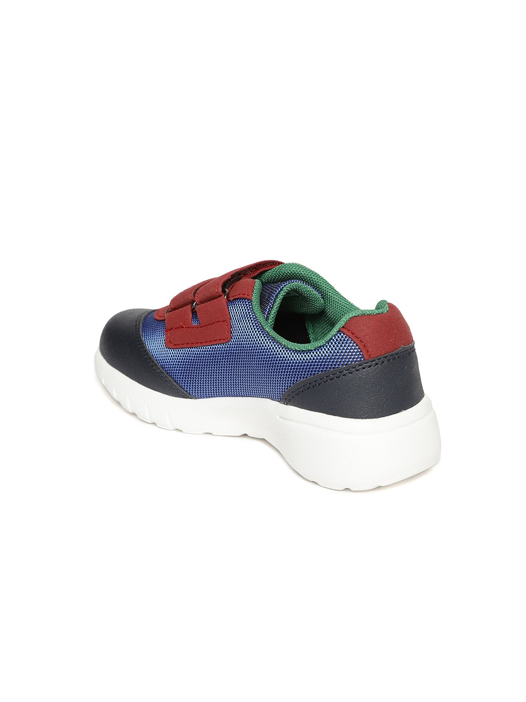 f977f4e69425 Buy United Colors Of Benetton Kids Blue   Red Woven Design Sneakers ...