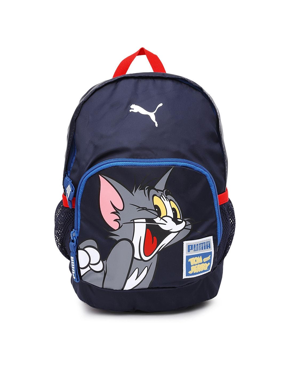 805e134fddba Buy PUMA Kids Navy Tom   Jerry Backpack - Backpacks for Unisex 724695