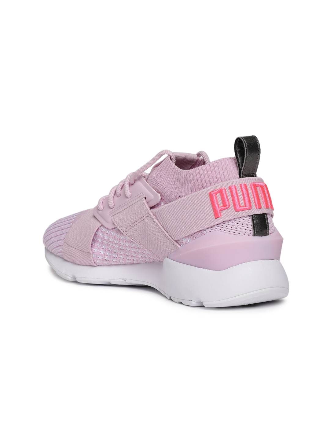 a79c27529af775 Buy Puma Women Pink Muse EvoKnit Sneakers - Casual Shoes for Women ...