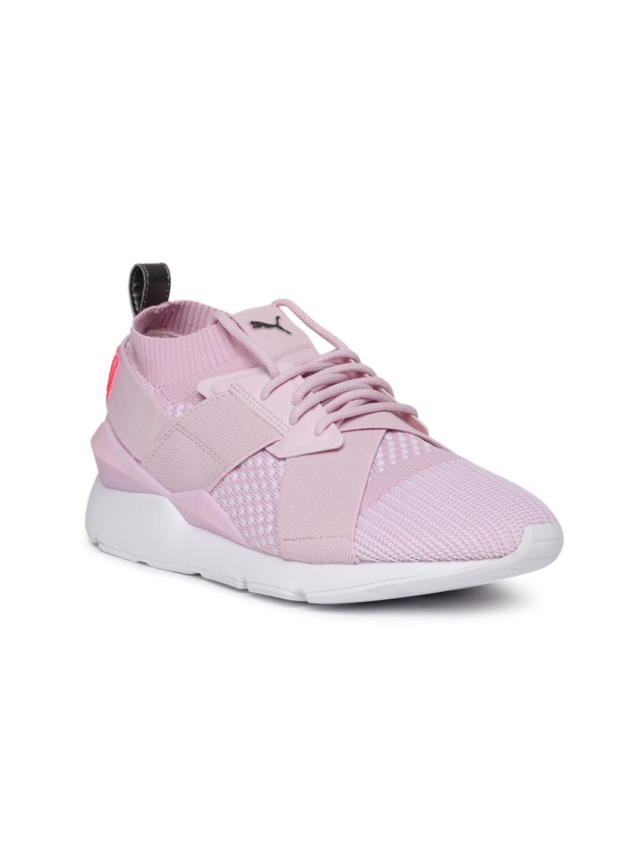 259c33e3cf56 Buy Puma Women Pink Muse EvoKnit Sneakers - Casual Shoes for Women ...