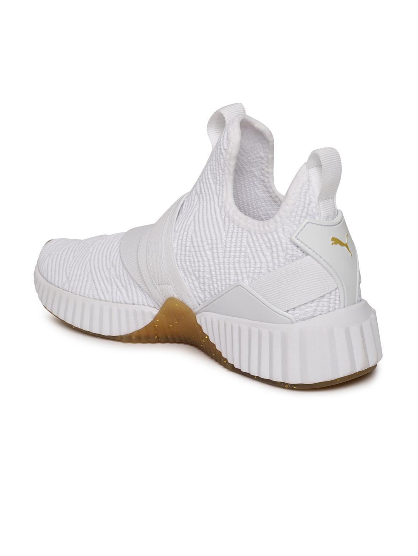 34315f06cc7e Buy Puma Women DEFY MID VARSITY White Training Shoes - Sports Shoes ...