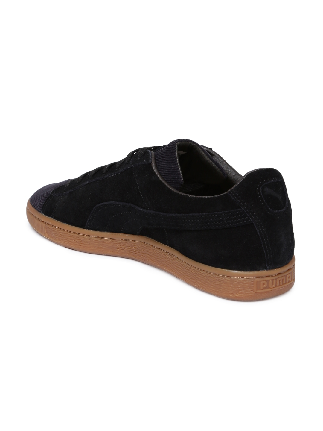 8d34ded35873 Buy Puma Men Black Suede Classic Pincord Sneakers - Casual Shoes for ...