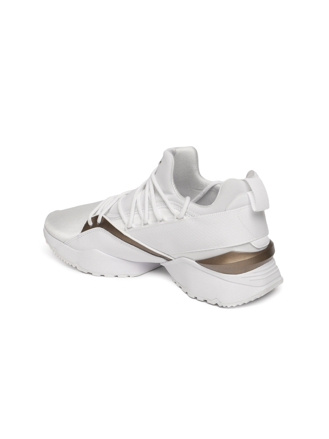 69985a898a5e Buy Puma Women White Muse Maia Luxe Sneakers - Casual Shoes for ...