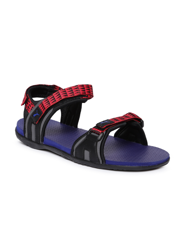 Buy Puma Men Red   Blue Nova MU IDP Sports Sandals - Sports Sandals ... 3bca511f9