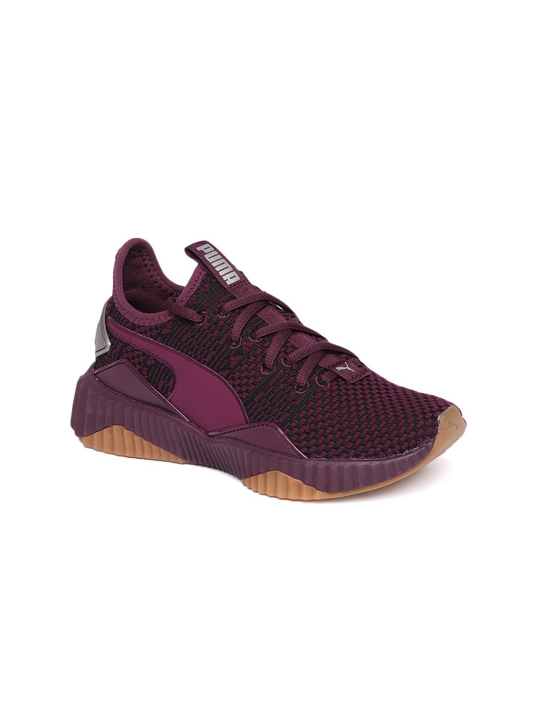 2de7acf86b95 Buy Puma Women Purple Training Or Gym Shoes - Sports Shoes for Women ...