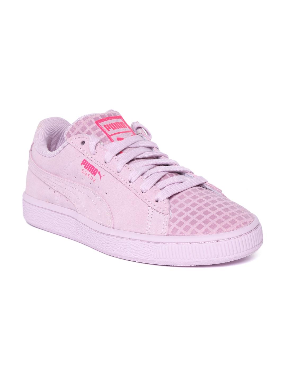 Buy Puma Women Lavender Suede Classic Street 2 Sneakers - Casual ... 871c16bb7