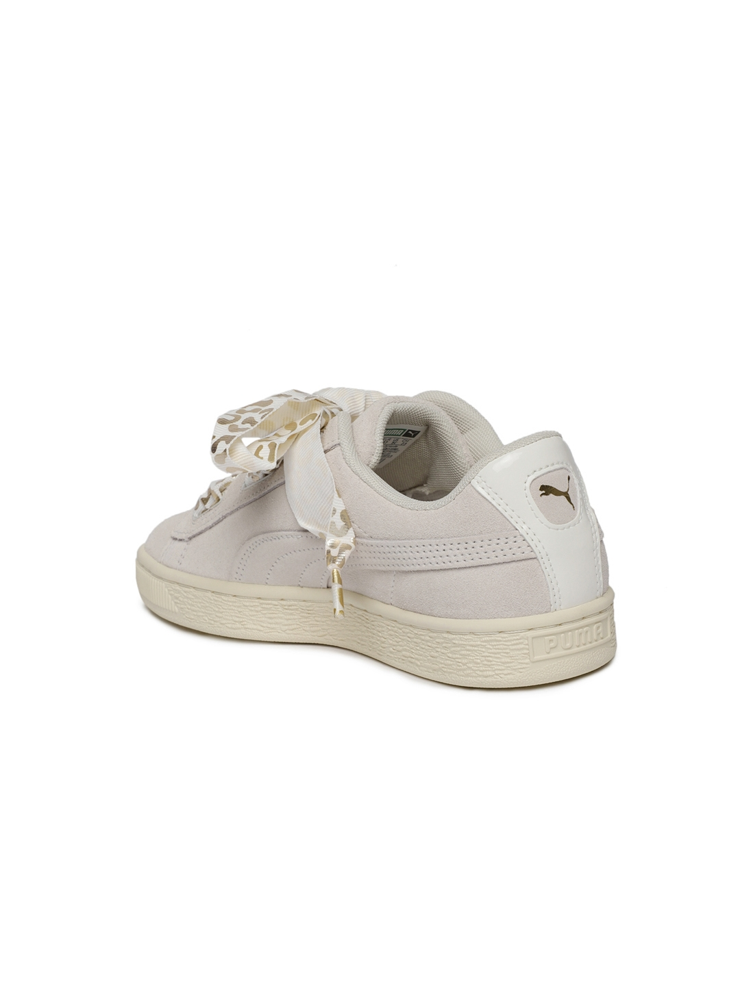 93f51a74505 Buy Puma Girls Beige Suede Heart AthLuxe Sneakers - Casual Shoes for ...