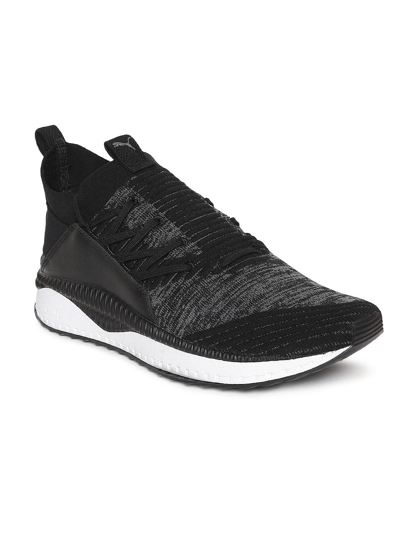 3512ae94166a Buy Puma Men Black   Grey TSUGI Jun Escape Sneakers - Casual Shoes ...