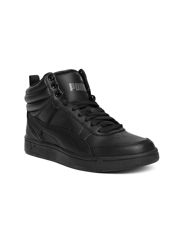 puma rebound street v2 l jr black sneakers boys e4c9c8c nice