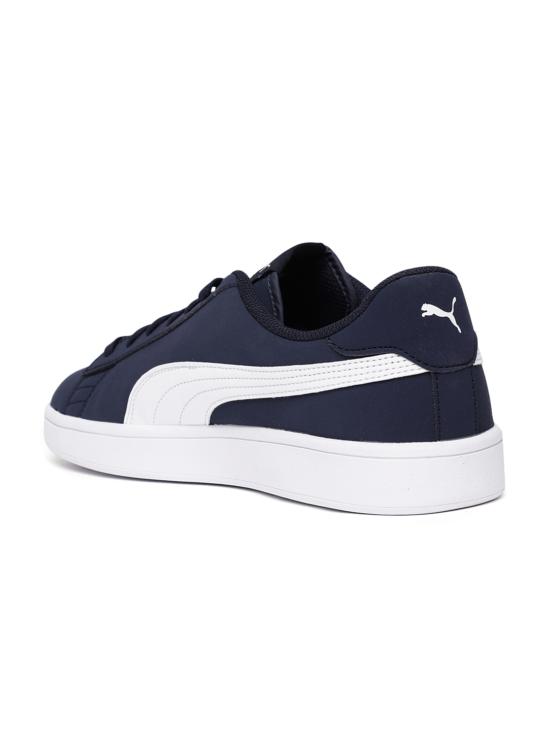 8b17468b7aa2 Buy Puma Unisex Navy Blue Smash V2 Buck Sneakers - Casual Shoes for ...