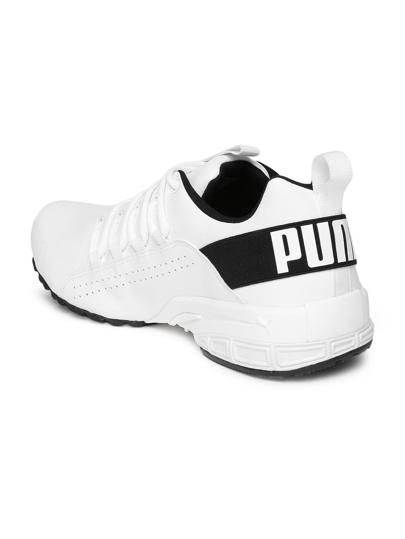 8e4ed315a79 Buy Puma Men White Running Shoes - Sports Shoes for Men 8109859   Myntra