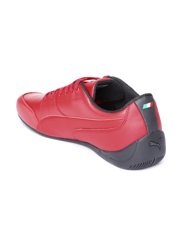 Buy Puma Unisex Red Scuderia Ferrari Drift Cat 7 Sneakers - Casual ... 5a573f9f0