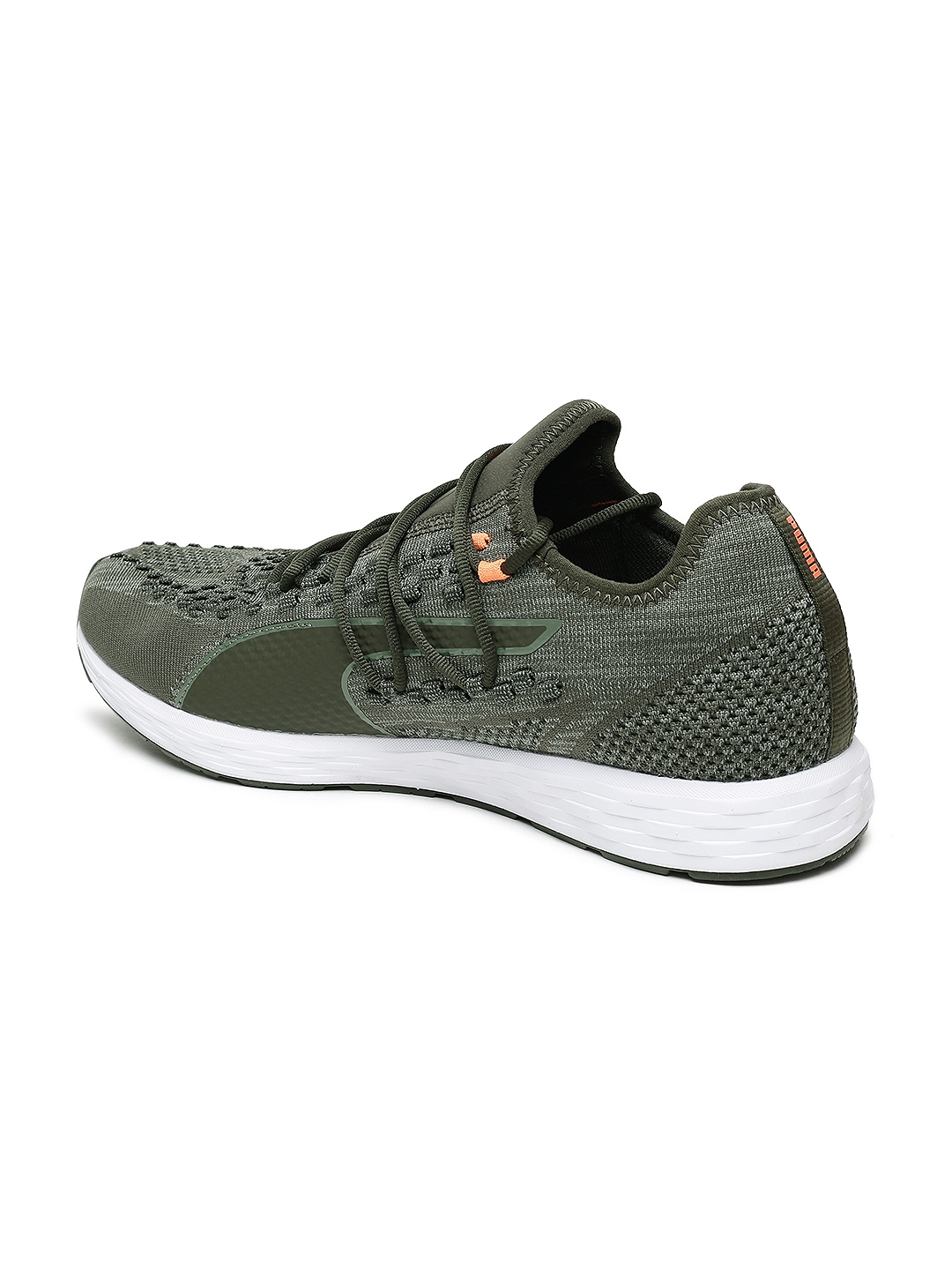 Buy Puma Men Olive Green SPEED RACER Running Shoes - Sports Shoes ... f4c4d8c82