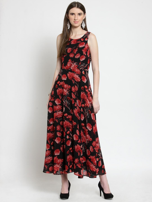 8e3b0d9d3 Buy Latin Quarters Women Red Printed Maxi Dress - Dresses for Women ...