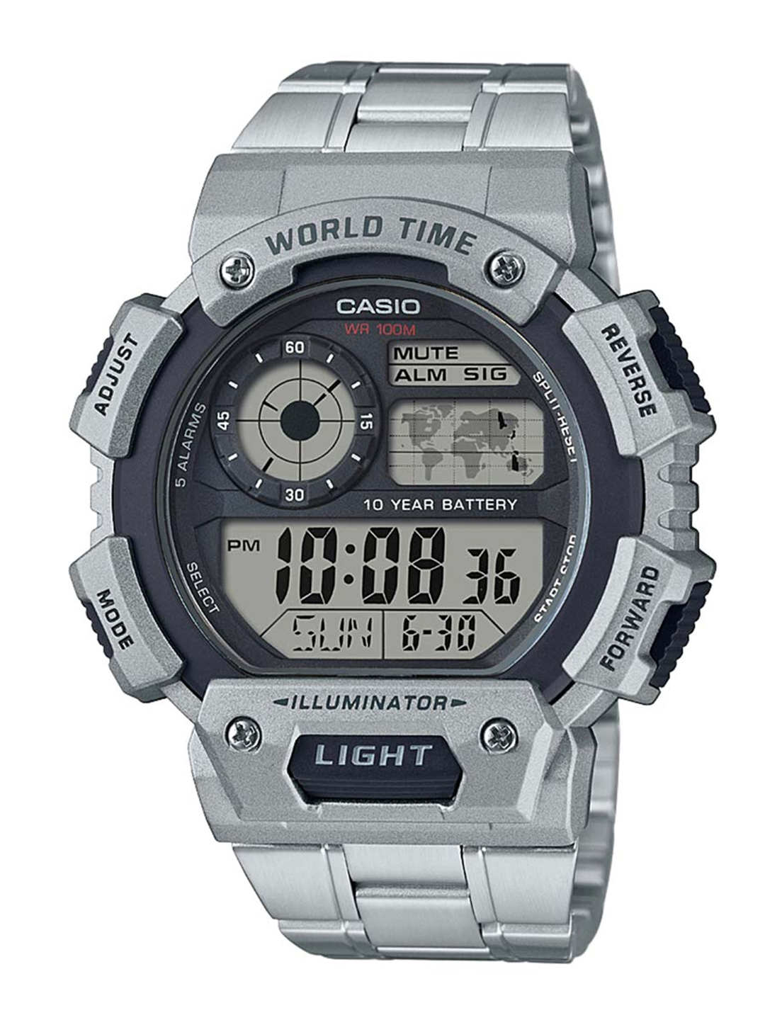 14b664f0ff7 Buy CASIO Men Black Digital Watch D153 - Watches for Men 7264931 ...