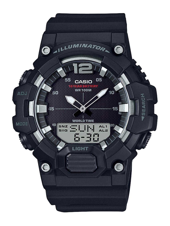 CASIO Youth Series Men Black Dial Analog Digital Watch HDC 700 1AVDF   D154