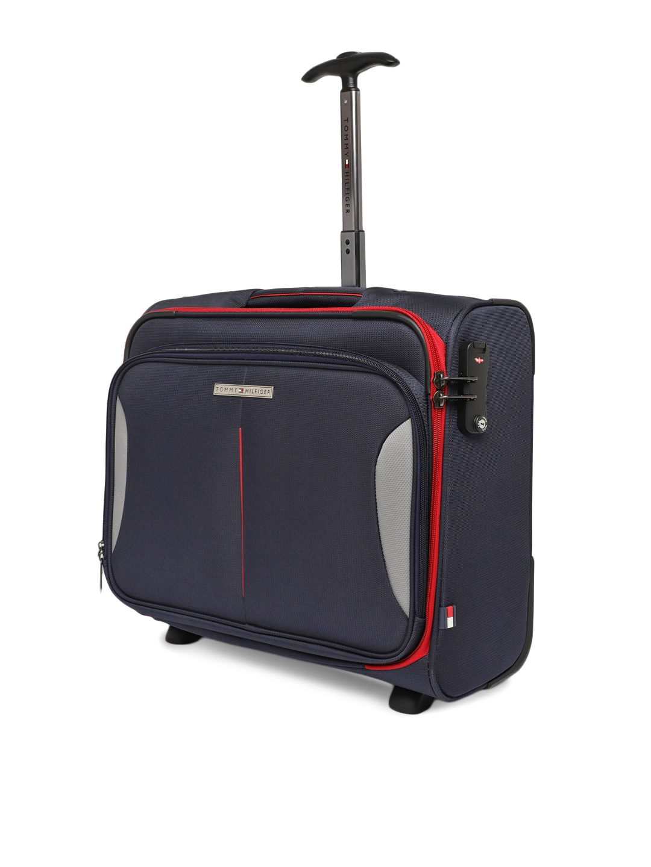 073f523e77 Buy Tommy Hilfiger Unisex Navy Blue Cabin Trolley Bag - Trolley Bag ...