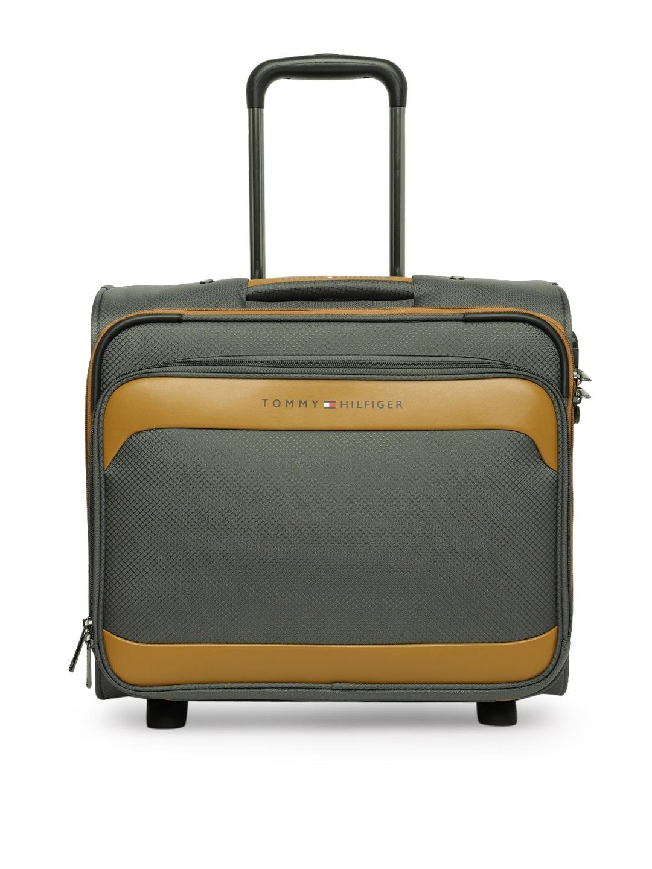 223d2bea97 Buy Tommy Hilfiger Unisex Grey Cabin Trolley Bag - Trolley Bag for ...