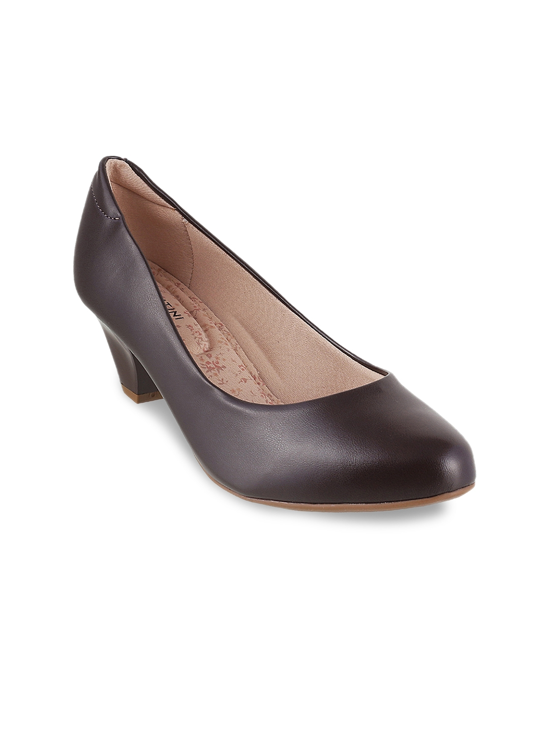 cfd2f935c7e Buy J.FONTINI Women Brown Solid Pumps - Heels for Women 7265311