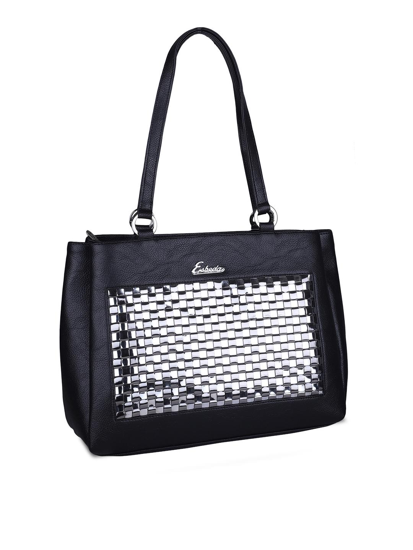 c17ad0159f Buy ESBEDA Black Solid Shoulder Bag - Handbags for Women 7274880 ...