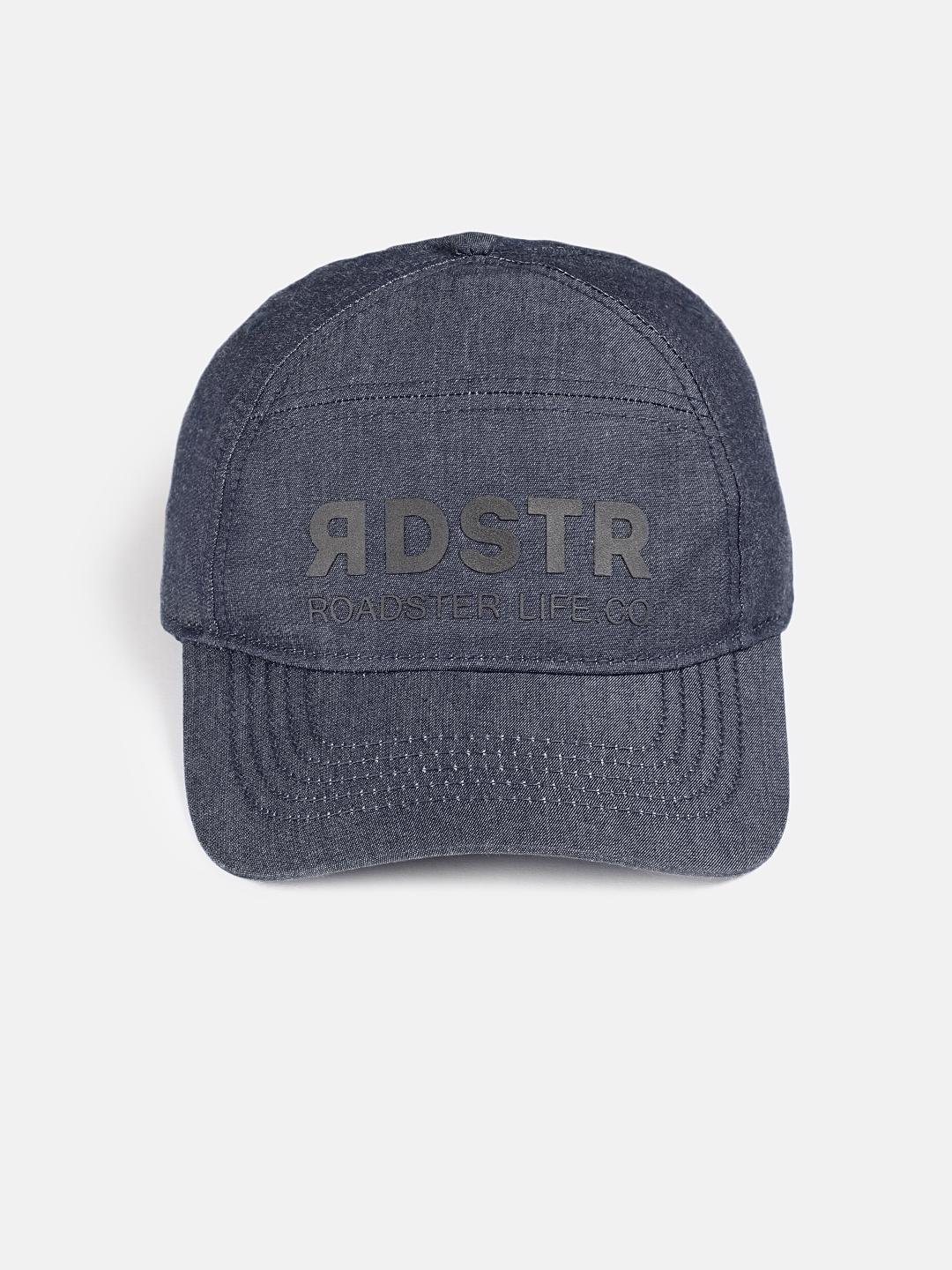 6dab6503dba54a Buy Roadster Unisex Navy Blue Printed Baseball Cap - Caps for Unisex ...