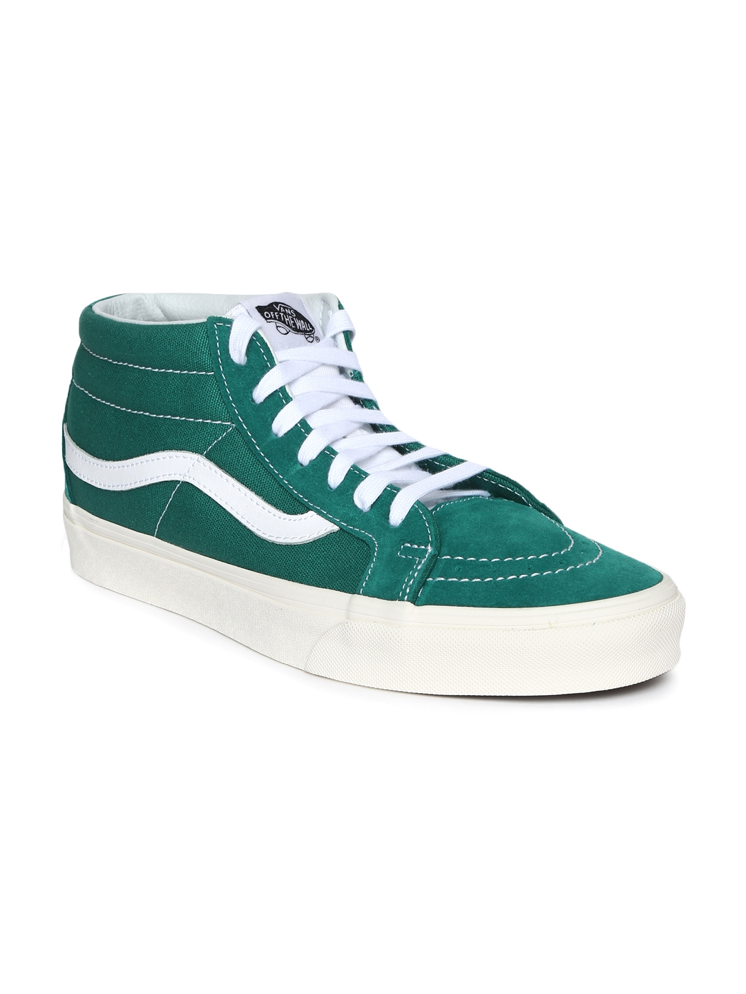 d2beea4b69 Buy Vans Unisex Green SK8 High Top Sneakers - Casual Shoes for ...