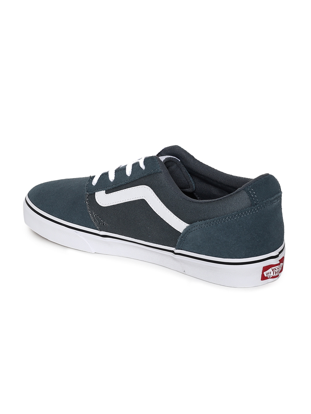 8423cee903b Buy Vans Men Navy Blue Suede Chapman Stripe Sneakers - Casual Shoes ...