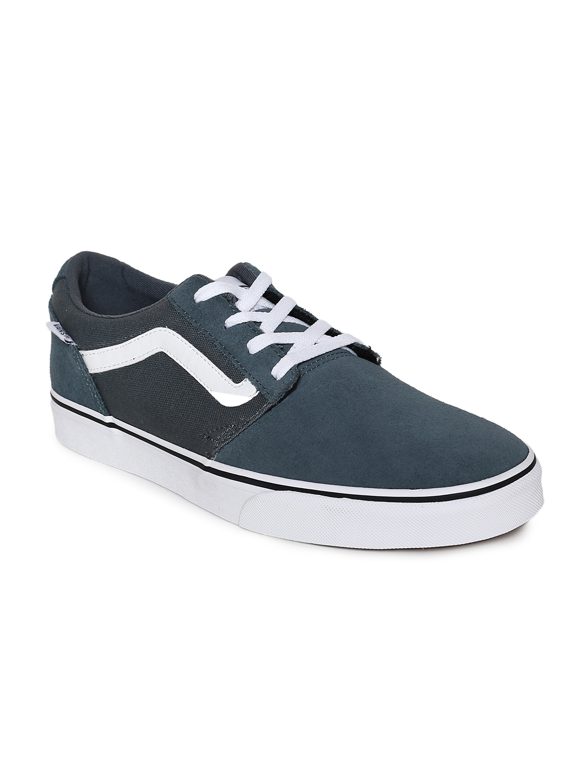 d848b0cefb Buy Vans Men Navy Blue Suede Chapman Stripe Sneakers - Casual Shoes ...