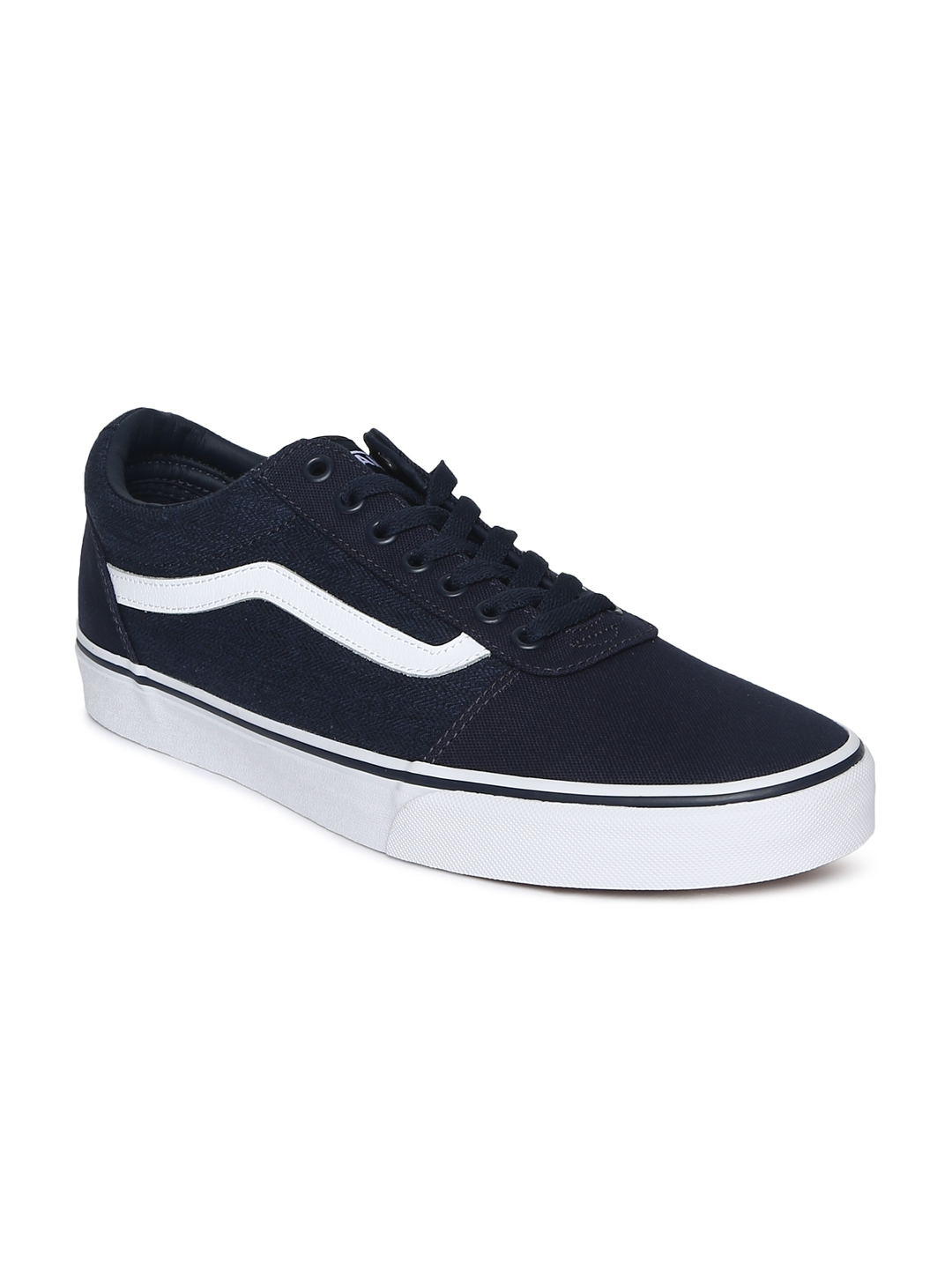 56958586bd547c Buy Vans Men Navy Blue Ward Sneakers - Casual Shoes for Men 7301215 ...