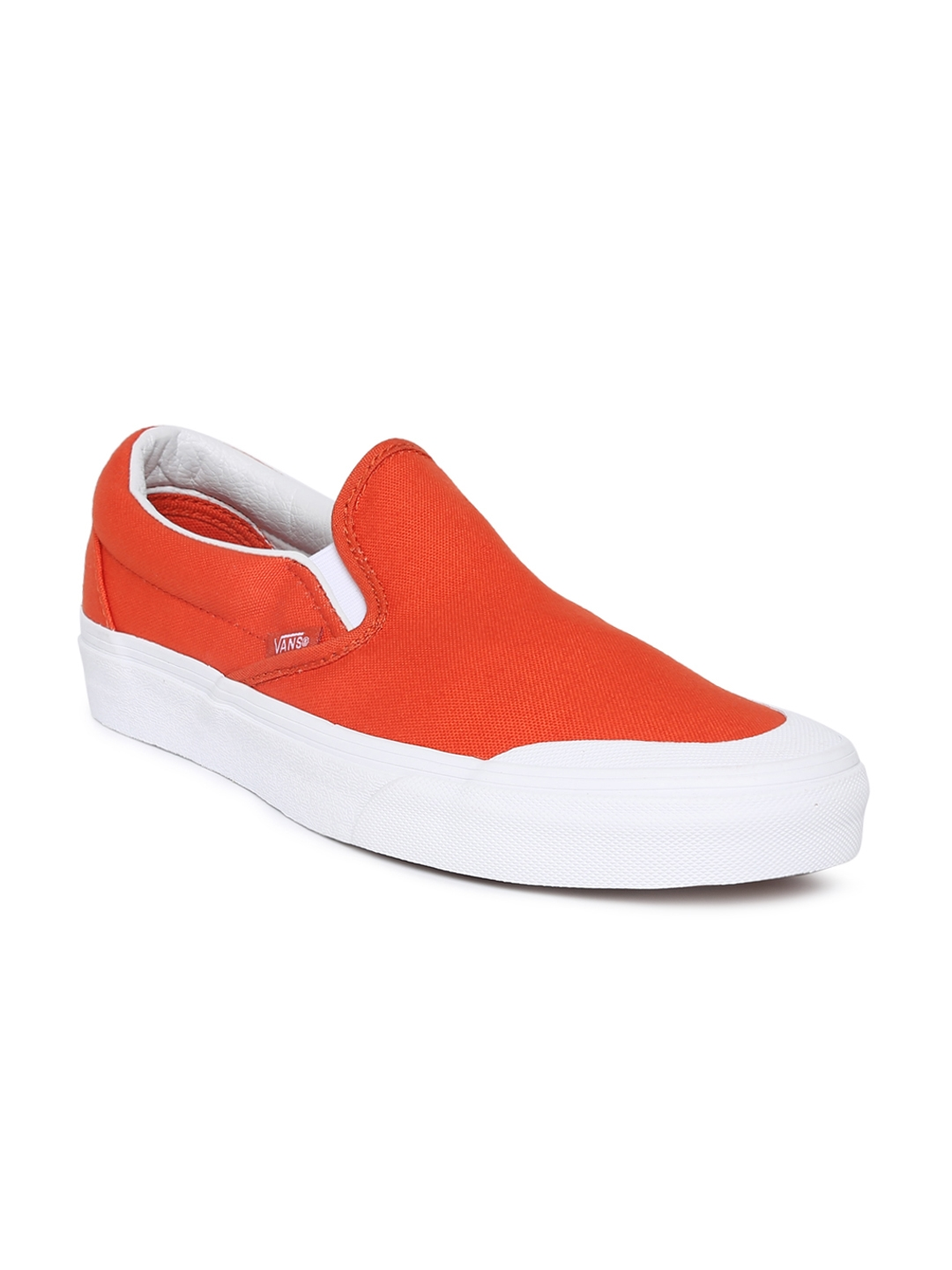 0bb3a69b4a Buy Vans Unisex Orange Classic 138 Slip On Sneakers - Casual Shoes ...