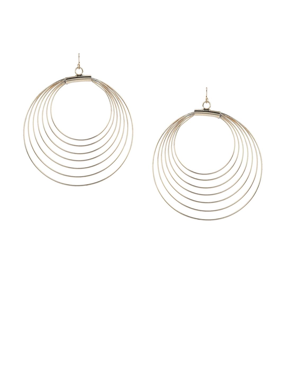 bd3784115 Buy Forever New Gold Toned Circular Hoop Earrings - Earrings for ...