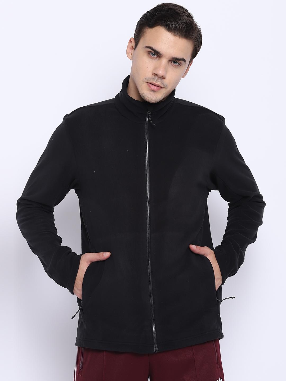 82ac13c594 Adidas Men Black Tivid Fleece Sweatshirt