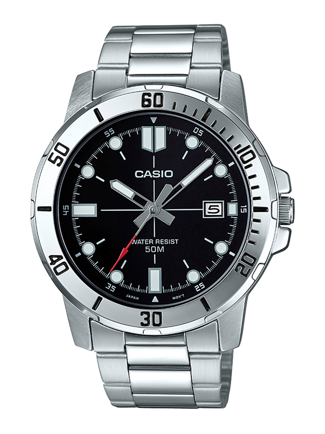CASIO Enticer Men Black Dial Analog Watch MTP VD01D 1EVUDF   A1362